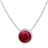 Ruby Necklace - Necklaces -