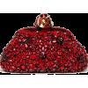 Ruby Red Clutch - Torbe s kopčom -