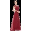 Ruby Red Dress - Dresses -