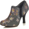 Ruby Shoo Juno Grey Floral Tweed High He - Classic shoes & Pumps - £50.00  ~ $65.79