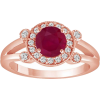 Ruby ring - Rings -