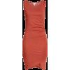 Ruched Body-Con Tank Dress LEITH - Vestidos -