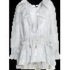 Ruffle striped blouse - ZIMMERMANN - Koszulki - długie -
