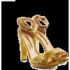 Rupert Sanderson Velig Velvet Sandals - Classic shoes & Pumps -