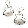 Rutilated Quartz Earrings - Ohrringe - $110.00  ~ 94.48€