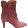SABEL MARANT Dedie suede ankle boots - Boots -