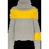SACAI Zipped scarf detail wool jumper - Jerseys - $1,115.00  ~ 957.66€