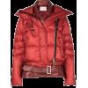 SACAI puffer biker jacket - Jacket - coats -