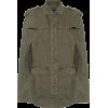 SAINT LAURENT Cotton and ramie gabardine - Jacket - coats -