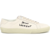SAINT LAURENT Court Classic embroidered - Sneakers -