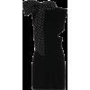 SAINT LAURENT Embellished velvet minidre - Dresses -