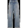 SAINT LAURENT High-rise straight-leg jea - Jeans -