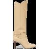 SAINT LAURENT Jane knee-high leather boo - Boots -