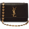 SAINT LAURENT  Kate leather cross-body b - Bolsas pequenas -