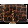 SAINT LAURENT  Kate leopard-print leathe - Torbice -