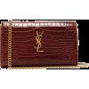 SAINT LAURENT  Kate mini crocodile-effec - Hand bag -