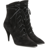 SAINT LAURENT Kiki 85 suede ankle boots - ブーツ -