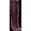 SAINT LAURENT Kiki leather over-the-knee - Botas - $1.26  ~ 1.08€