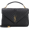 SAINT LAURENT Large Collège Monogram sho - Hand bag -