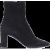SAINT LAURENT Lou 70 suede ankle boots - Stivali -
