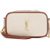 SAINT LAURENT Lou Mini canvas crossbody - Kleine Taschen -