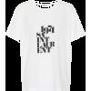 SAINT LAURENT Printed cotton T-shirt - Majice - kratke -