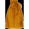 SAINT LAURENT Pussy-bow polka-dot silk-c - Tunic - $1,090.00
