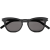 SAINT LAURENT Round-frame acetate sungla - Sunglasses -