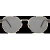 SAINT LAURENT  Round metal sunglasses - Sonnenbrillen -