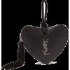 SAINT LAURENT  Sac Cœur heart leather cl - Borse con fibbia -