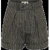 SAINT LAURENT Shorts aus einem Leinengem - Shorts -
