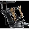SAINT LAURENT - Sandals -