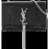 SAINT-LAURENT black bag - ハンドバッグ -