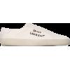 SAINT LAURENT court classic logo embroid - Scarpe da ginnastica -
