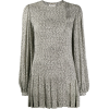 SAINT LAURENT micro zebra print dress - Dresses -