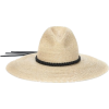 SAINT-LAURENT neutral straw hat - Sombreros -