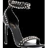 SAINT LAURENT studded open toe sandals 9 - Sandały -