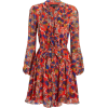 SALONI Tilly Ruffle Floral Mini Dress - Dresses -