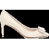 SALVATORE FERRAGAMO Zeri 70 leather pump - Klassische Schuhe -