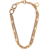 SALVATORE FERRAGAMO chain charm necklace - Necklaces -