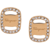 SALVATORE FERRAGAMO logo embellished stu - Uhani -