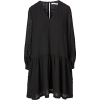 SAMSØE SAMSØE black dress - Obleke -