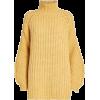 SAMSOE SAMSOE yellow turtleneck - Pullovers -