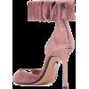 SAMUELE FAILLI Alexandra 90 suede sandal - Sandals -