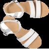 Sandals White - サンダル -
