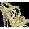 Sandals Green - Sandale -