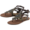 Sandals Brown - 凉鞋 -