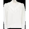 SANDRO PARIS lace detail blouse - Long sleeves shirts -