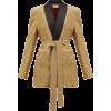 SARA BATTAGLIA Blazer ceinturé à boutonn - Jacket - coats -