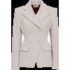SARA BATTAGLIA White Velvet jacket - Kurtka - 980.00€